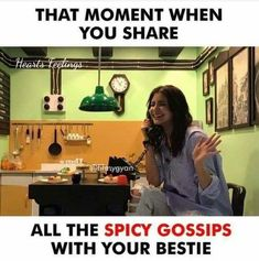 me and my bestie. no exams passed without talking to each other. Best Friend Quotes Funny, Besties Quotes, Cute Funny Quotes, Fun Quotes, Bffs, Funny Memes, Girly Attitude Quotes, Girly Quotes, School Life Quotes