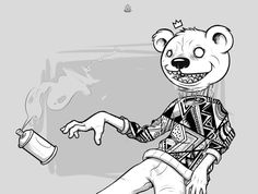 Head Bear on Behance