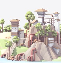 Behance :: Hillside by Timothy J. Reynolds: