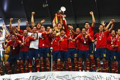 Spain completing Hat-trick of Major wins with 2012 Euro cup by beating Italy in the finals