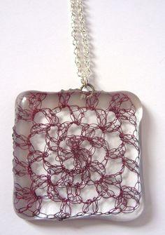 20 Inspiring Examples of Glass + #Crochet