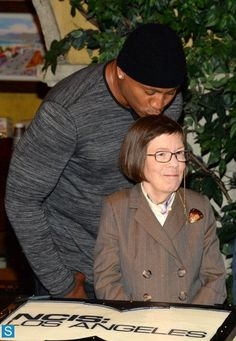 NCIS Los Angeles - where else can you see such a cool group of characters. My fave is Linda Hunt, pictured here with LLCoolJ