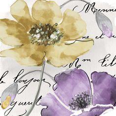 Fleurs De France Painting - Fleurs De France II by Mindy Sommers