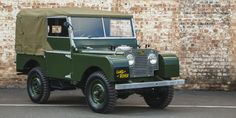 Land Rover Will Sell You a Meticulously Restored Series 1 Defender From 1948