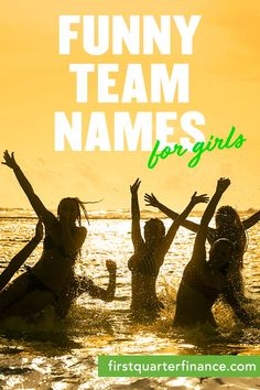 Funny Team Names | Personal | Running team names, Team ...