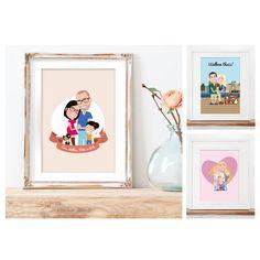 //MOEDERDAG///   Op zoek naar een écht uniek én origineel kado voor moederdag? Of willen jullie een portret van de (klein)kinderen laten maken, maar lukt het maar niet om met zijn allen samen te komen? Wat dacht je van zo'n tof getekend portret? Verras je moeder met een tekening van het gezin.  Ook enthousiast? Neem contact op via alma@almalangerak.nl