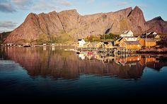 Sakrisoy, the Lofoten Islands, Norway