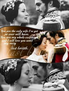 The young Victoria. This is such a corny line but sometimes you have to sound stupid to those who don't understand....