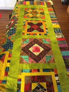jbe200:  Dropped this off with the long arm quilter yesterday. Jane