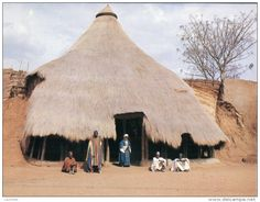 "Cameroon via Bernard Ryefield, ""Traditional Architecture"""