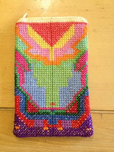 Age 10 ~ Handwork ~ Cross Stitch ~ Pencil Case