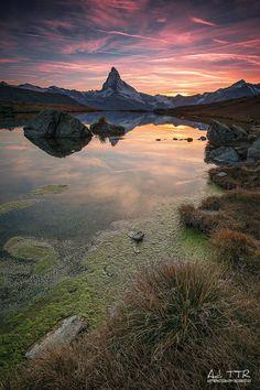 Matterhorn Peak from Stellisee