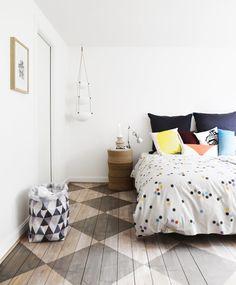 Bedlinen / parure de lit par les danois Oyoy - Shop on www.botw.fr - Bird on the wire
