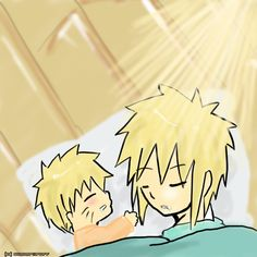 Minato and Naruto fan art | Creative Commons Attribution-Noncommercial-No Derivative Works 3.0 ...