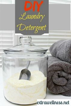 Homemade DIY Laundry Detergent. it's cheaper, better for you, and cleans your clothes better.{Tested & Proven} Extrawellness.net