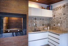 churrasqueira porcelanato madeira - Pesquisa Google