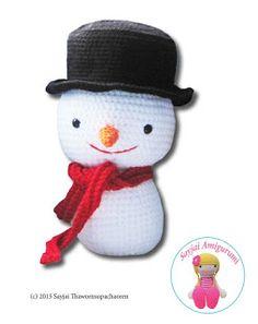 Large Amigurumi Snowman - FREE Crochet Pattern / Tutorial