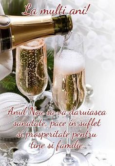Anul Nou să vă dăruiască sănătate, pace în suflet și prosperitate pentru tine și familie. Safe Flight Quotes, An Nou Fericit, Happy New Year Photo, Merry Xmas, Voss Bottle, Happy Birthday, Clip Art, Christmas, Cards