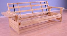 Phoenix Futon Sofa Frame in Natural Finish * Be sure to check out this awesome product.
