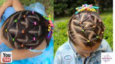 Peinado fácil para niña / Easy hairstyle for girl ❤FUERZA MÉXICO (Sismo ...