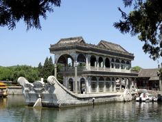 Marble Boat at the Summer Palace, Beijing, China