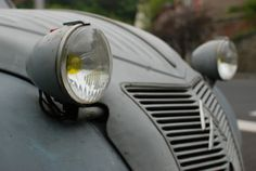 The Citroën 2CV was an economy car produced by the French car manufacturer Citroën between 1948 and 1990.[1] It was technologically advanced and innovative, but with uncompromisingly utilitarian unconventional looks, and deceptively simple Bauhaus inspired bodywork,[3] that belied the sheer quality of its underlying engineering. It was designed to move the French peasantry on from horses and carts. It is considered one of Citroën's most iconic cars… […] (via Wikipedia)