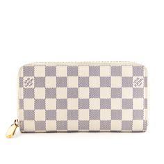 Louis Vuitton Zippy Wallet in Damier Azur - 1