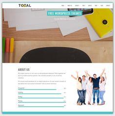 total theme gratuit WordPress responsive