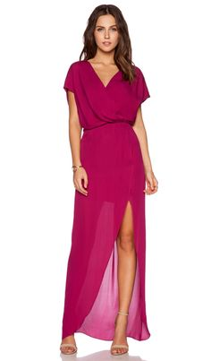 Rory Beca MAID by Yifat Oren Plaza Gown in Magenta | REVOLVE