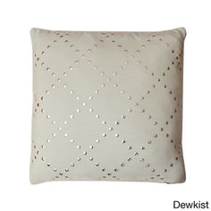 LR = Lars Lattice 20-inch Feather Filled Throw Pillow - Overstock™ Shopping - Great Deals on Thro Throw Pillows