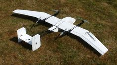 Wingcopter Fixed-Wing-Airplane/Quadcopter Fusion VTOL UAV - DIY Drones