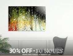 Discover «CORTINA TROPICAL-negro», Limited Edition Aluminum Print by Cora de Lang - From 95€ - Curioos