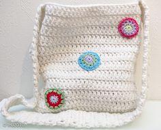 Crocheted bag by ingahelene, via Flickr