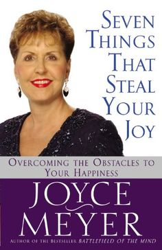 joyce meyer books - Seven Things That Steal Your Joy http://www.christianebuymarketplace.com/joyce-meyer-books/