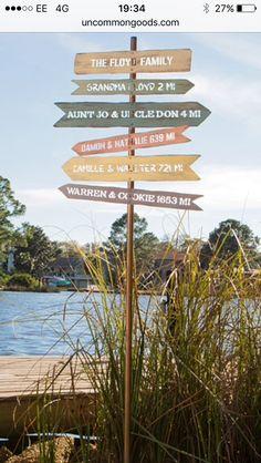 Family signpost