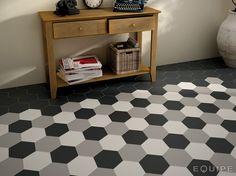 Ceramic floor tiles HEXATILE by EQUIPE CERAMICAS