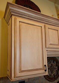 Oh honey ... look what I found !! a great way to update our cabinets ...