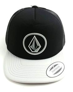 Volcom Full Frontal Cheese Trucker Hat Black Gray Snapback USA Seller   Volcom  BaseballCap 5eefc0c79e2a