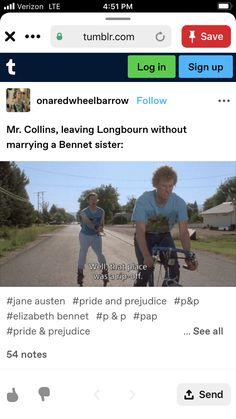 Jane Austen Books, Best Novels, Classic Literature, Book Memes, Pride And Prejudice, Period Dramas, Book Fandoms, I Love Books, Funny Relatable Memes