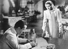 Humphrey Bogart and Ingrid Bergman in the Hollywood classic Casablanca Ingrid Bergman, Humphrey Bogart, Bob Fosse, Film Casablanca, Casablanca Quotes, Martin Scorsese, Classic Hollywood, Old Hollywood, Planet Hollywood