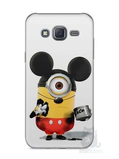 Capa Capinha Samsung J5 Minions Mickey Mouse - SmartCases - Acessórios para celulares e tablets :)