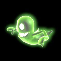 """Greenie from """"Luigi's Mansion: Dark Moon"""""""
