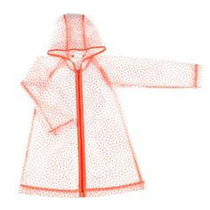 Raincoat Anais - Orange Dots