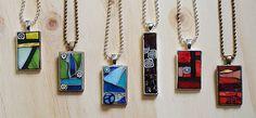 mosaic jewelry by Mosaic Geek, via Flickr