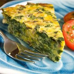 Bodybuilding Salmon Spinach And Egg Quiche.