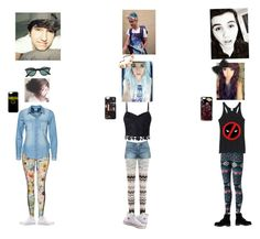 """""""1. Jc Caylen Date, 2. Kian Lawley Date, 3. Sam Pottorff Date ❤️"""" by brendonurierules on Polyvore featuring Missoni, Topshop, Lipsy, Converse, Marvel Comics, Dr. Martens, Vero Moda and Ray-Ban"""
