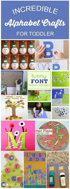 Teaching your toddler the alphabet goes much beyond reciting the alphabet song. If she learns to identify letters and sounds early.Here we present 10 amazing alphabet crafts for toddlers that will help them learn alphabets easily
