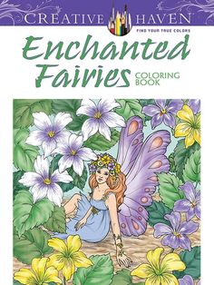 Enchanted Fairies Adult Colouring Book - Colouring Books - Books - Books & Patterns
