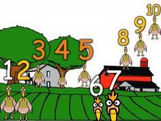 Chicken Count to 10 Song - Harry Kindergarten Harry Kindergarten, Kindergarten Rocks, Math Songs, Kids Songs, Smart Boy, School Videos, First Grade Teachers, Farm Theme, Brain Breaks
