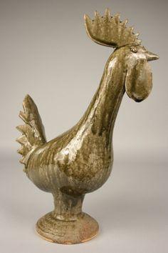 51 Best Chicken Sculptures Images Chicken Art Ceramic